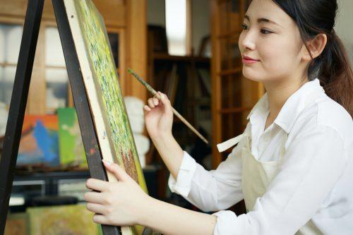 デッサン 油彩画