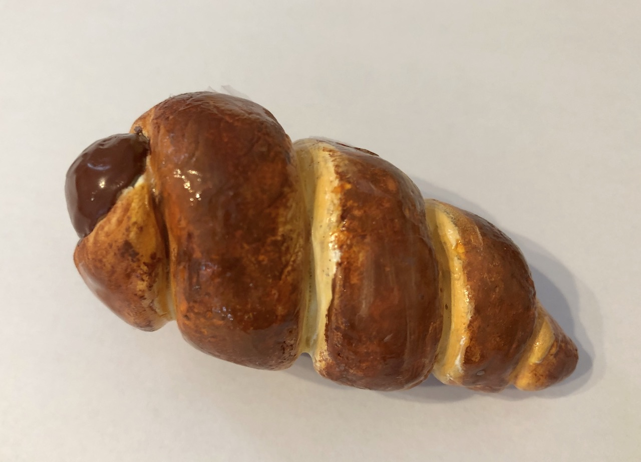粘土 チョココロネ スイーツデコ